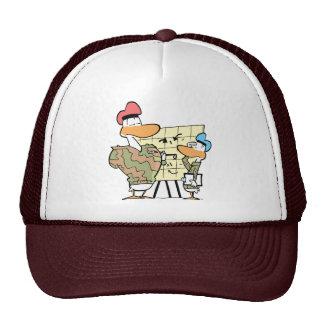 Swamp Army Recruitment Officer Trucker Hat