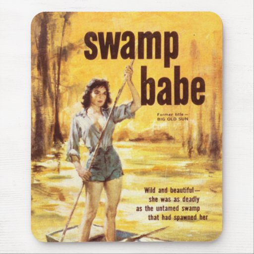 Swamp Babe Mouse Mat