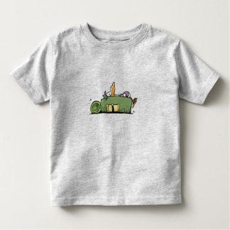 Swamp Backpacker Bird Toddler T-Shirt