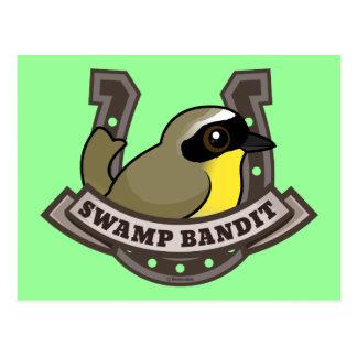Swamp Bandit Postcard