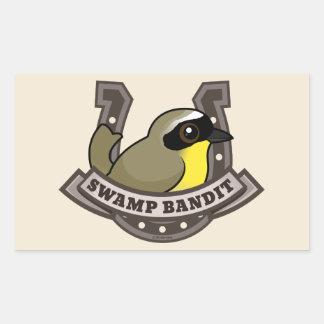Swamp Bandit Rectangular Sticker