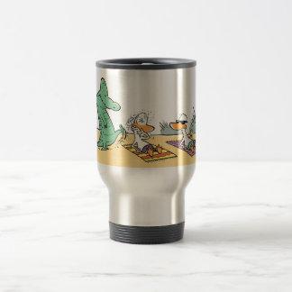 Swamp Beware of The Crocodile Travel Mug