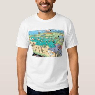 Swamp Bird's Eye View T-Shirt
