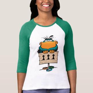 Swamp Bludgerigar Cartoon Women's Shirt