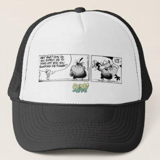 Swamp Bludgerigar Flying Tip #1 Trucker Hat