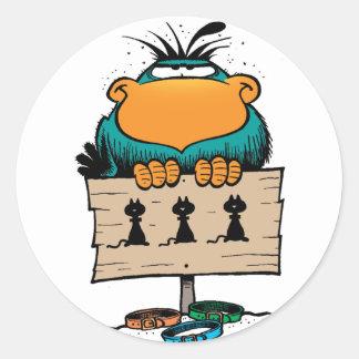 Swamp Bludgerigar Sticker