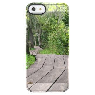 Swamp Boardwalk Clear iPhone SE/5/5s Case