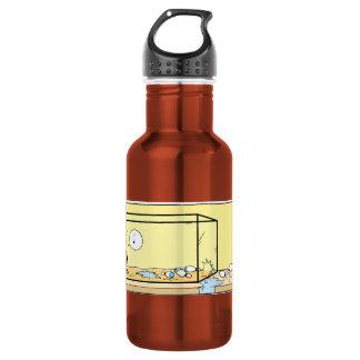 Swamp Bob The Crayfish Bowling Night Water Bottle