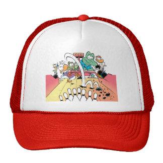 Swamp Bowling Night Trucker Hat