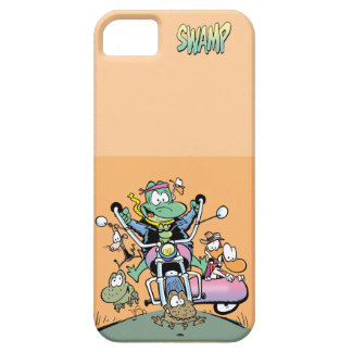 Swamp Burning Rubber on Two Wheels iPhone SE/5/5s Case
