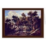 Swamp By Ruisdael Jacob Isaaksz. Van Cards