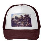 Swamp By Ruisdael Jacob Isaaksz. Van Mesh Hats
