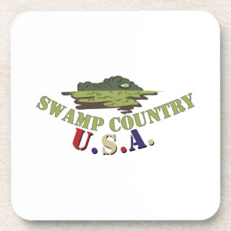 Swamp Country Beverage Coasters