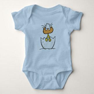 Swamp Cute Grumpy Duckling Baby Bodysuit