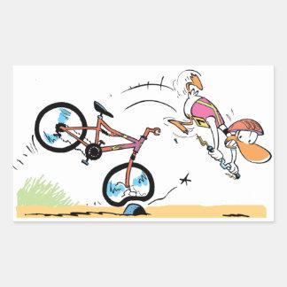 Swamp Ding Duck Bike Crash Sticker