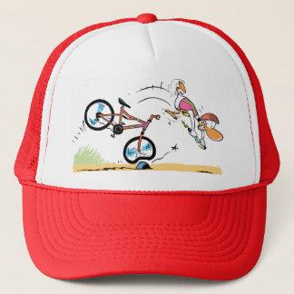 Swamp Ding Duck Bike Crash Trucker Hat