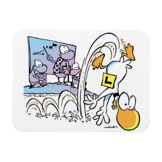 Swamp Ding Duck Crash Cartoon Magnet