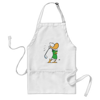 Swamp Ding Duck Golf Swing Apron