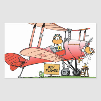 Swamp Ding Duck Joy Flight Sticker