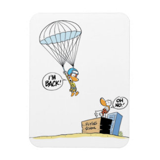 Swamp Ding Duck Parachute Magnet