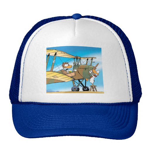 Swamp Ding Duck Prepare For Take-Off Trucker Hats