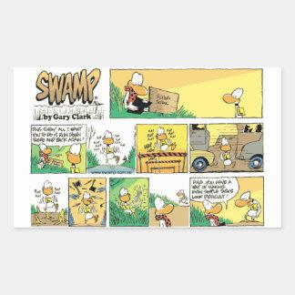 Swamp Ding Duck Take-Off Sticker