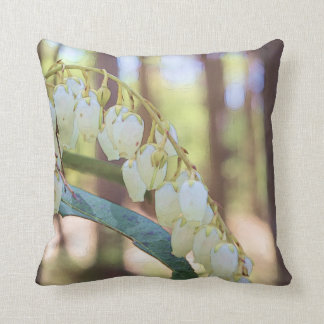 Swamp Doghobble (Eubotrys racemosa) Throw Pillow