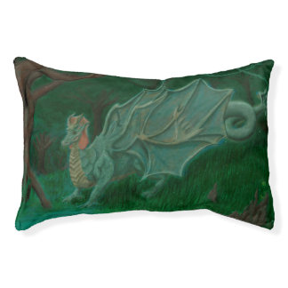 Swamp Dragon Small Dog Bed