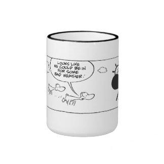 Swamp Duck Weather Forecast Coffee Mug