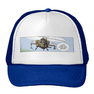 Swamp Ducks and the Apache Trucker Hat