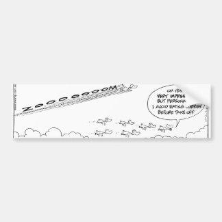 Swamp Ducks Flying Power Bumper Stickers