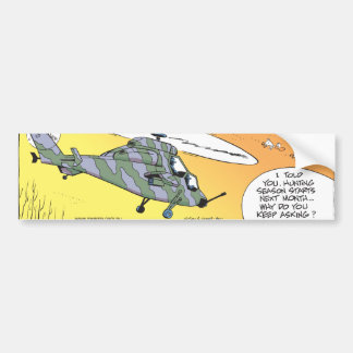 Swamp Ducks Hunting Paranoia Bumper Sticker