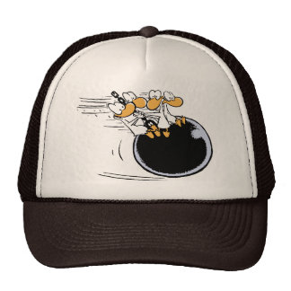 Swamp Ducks Wrecking Ball Cartoon Cap
