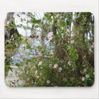 Swamp Flowers Mouse Pad