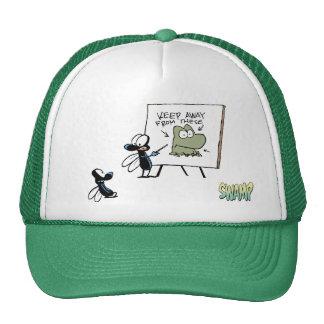 Swamp Fly Frog Safety Speech Trucker Hat