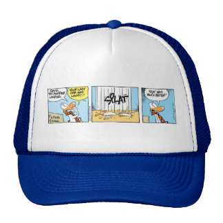 Swamp Flying Instructor Funny Cap Trucker Hat