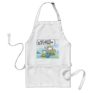 Swamp French Recipe Apron