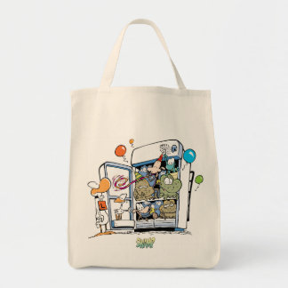 Swamp Fridge Party Grocery Bag