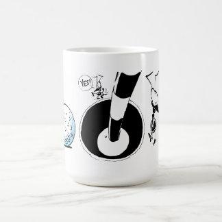 Swamp Golf Ant Cartoon Classic White Coffee Mug