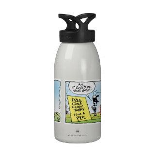 Swamp Golf Ant Pro Clinic Water Bottle Reusable Water Bottle