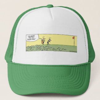 Swamp Golf Club Bending Hole Trucker Hat