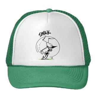 Swamp Golf Drive Ant Comic Trucker Hat