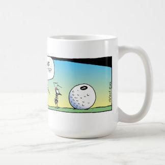 Swamp Golfing Ants Classic White Coffee Mug