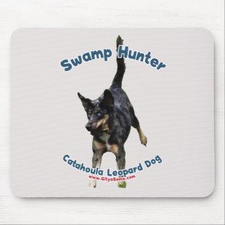Swamp Hunter Dog Mouse Pad