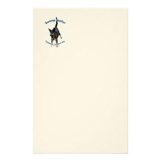 Swamp Hunter Dog Stationery