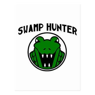 Swamp Hunter Gator Symbol Postcard
