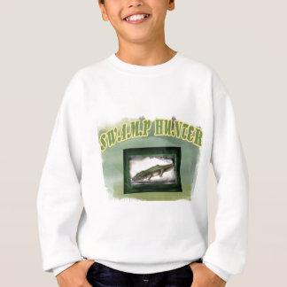 Swamp Hunter Layered Camo Gator Sweatshirt