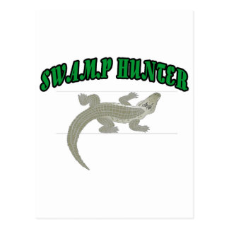 Swamp Hunter Postcard