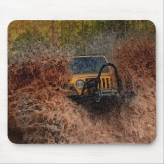 Swamp Jeeping Mouse Pad