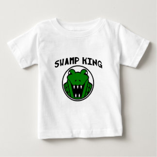 Swamp King Gator Symbol Baby T-Shirt